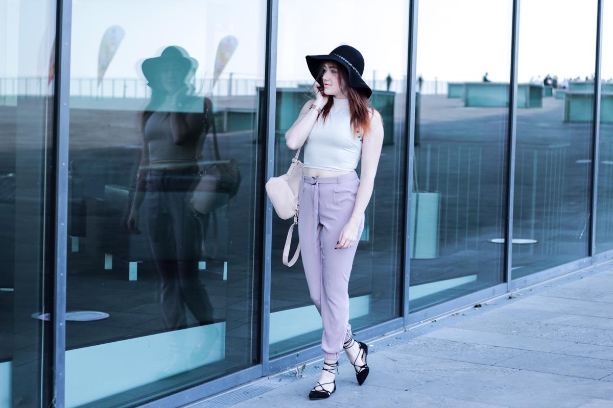 Fashionbloggerin aus Dresden am Kongresszentrum