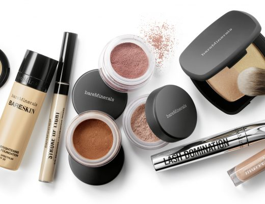 bareMinerals Website Bild